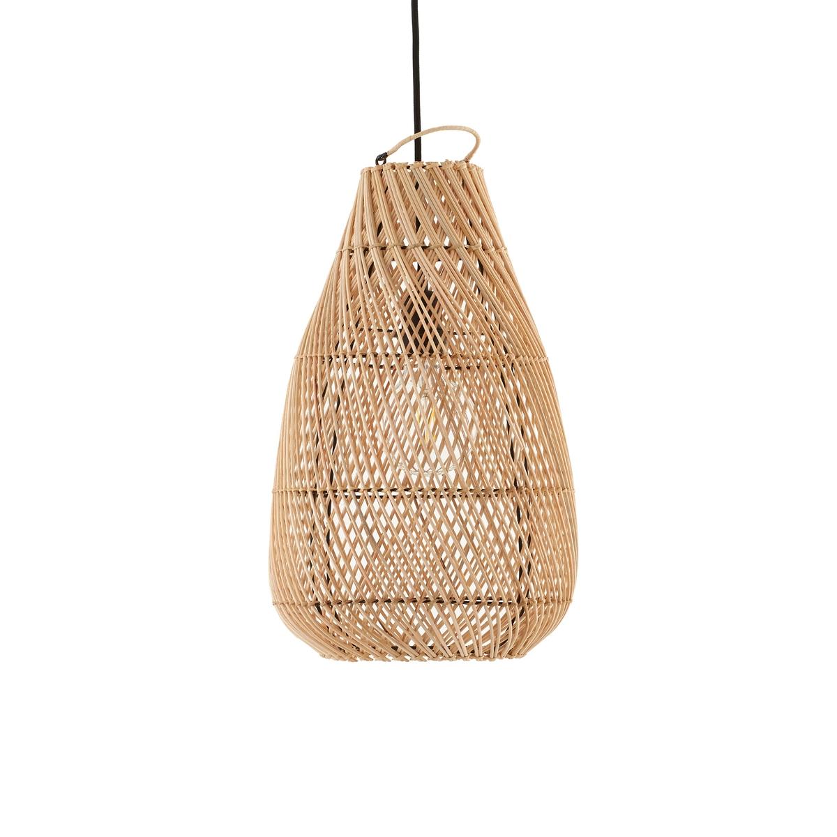 Светильник La Redoute Tylway из ротанга без электрики единый размер бежевый мебель из ротанга