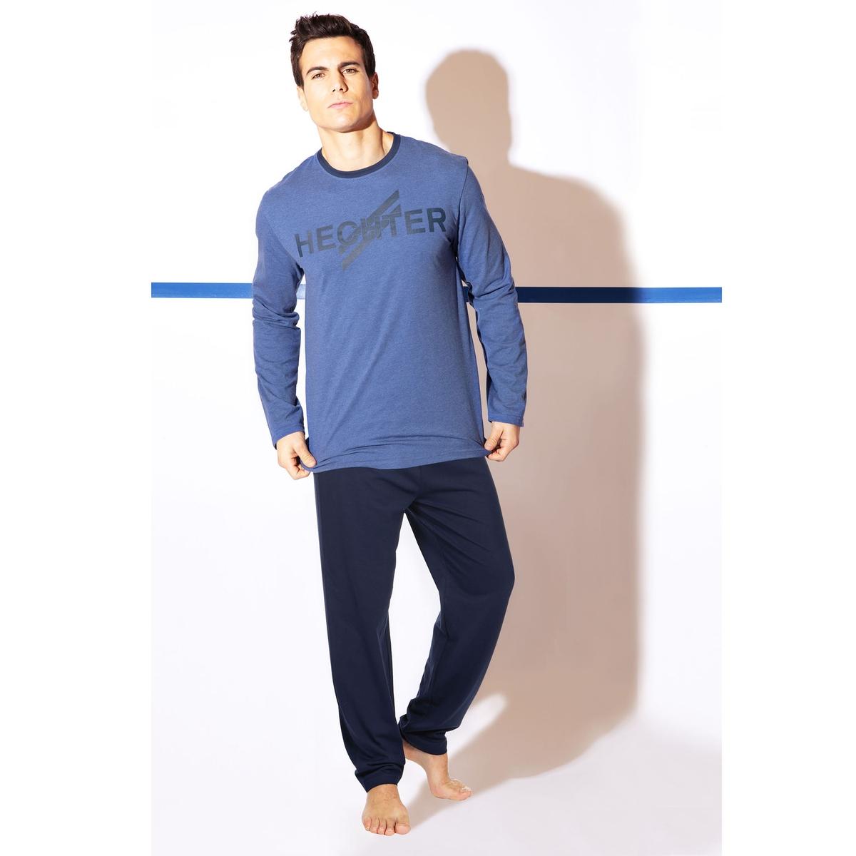Пижама раздельная с длинными рукавами