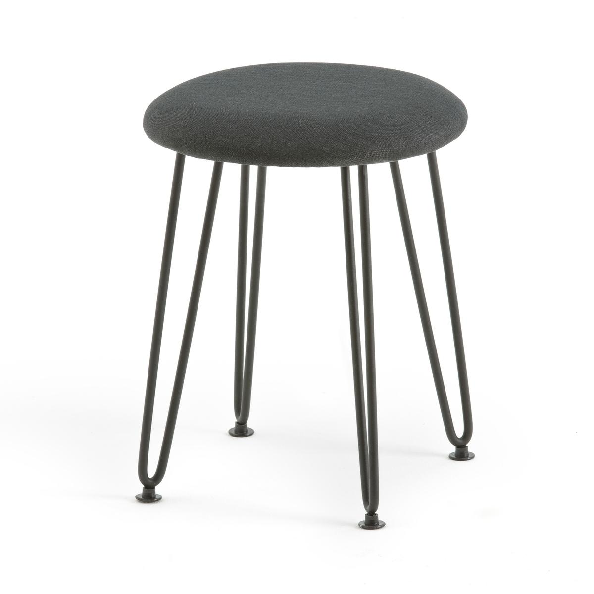Табурет La Redoute В индустриальном стиле Watford единый размер серый стула la redoute барных watford единый размер каштановый