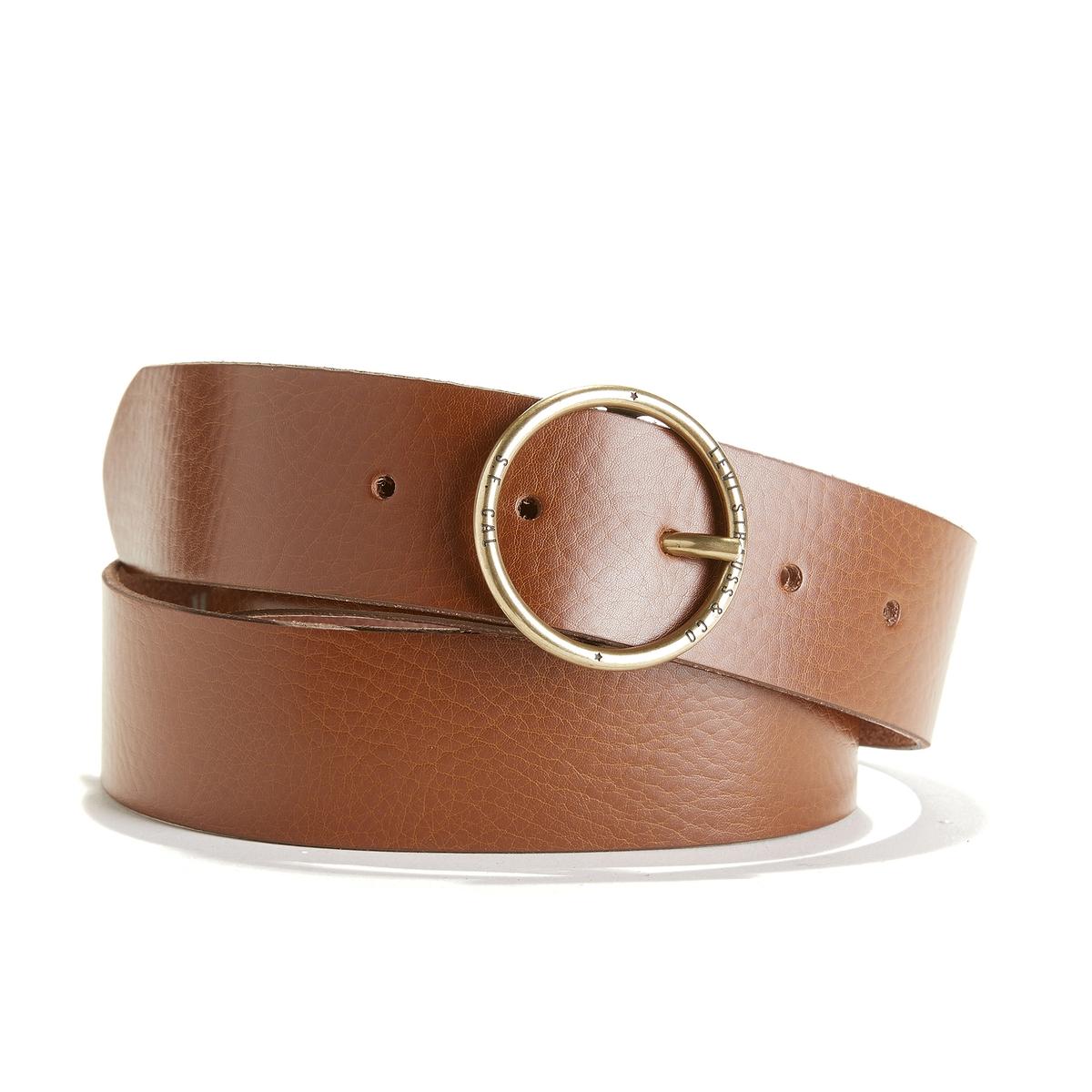 Cinturón de piel Fashion Circle Belt