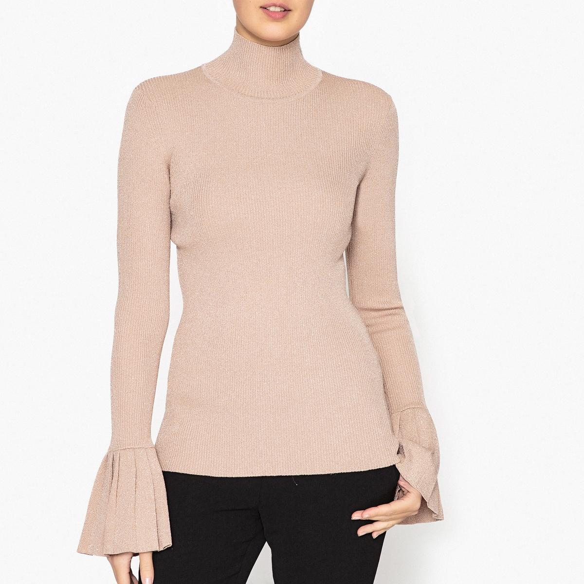 Пуловер блестящий с воротником-стойкой хочу итальянскую мужскую рубашку с воротником стойкой где