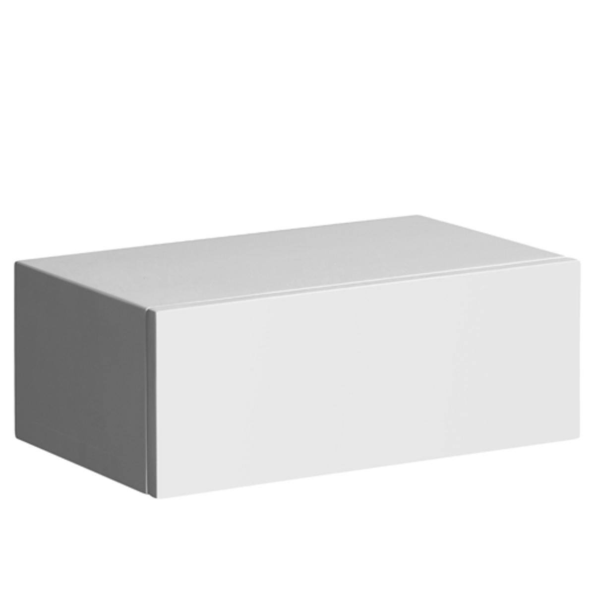 Тумба прикроватная - шкафчик Vesper, 3 отделкиЭту тумбу-шкафчик (или несколько тумб в ряд) можно повесить на стену.МДФ с лаковым покрытием- нитроцеллюлоза и полиуретан (модель под покраску из массива сосны). Размеры  : Шир..40 x Гл.25 x.15 см..<br><br>Цвет: белый,под покраску,черный<br>Размер: единый размер