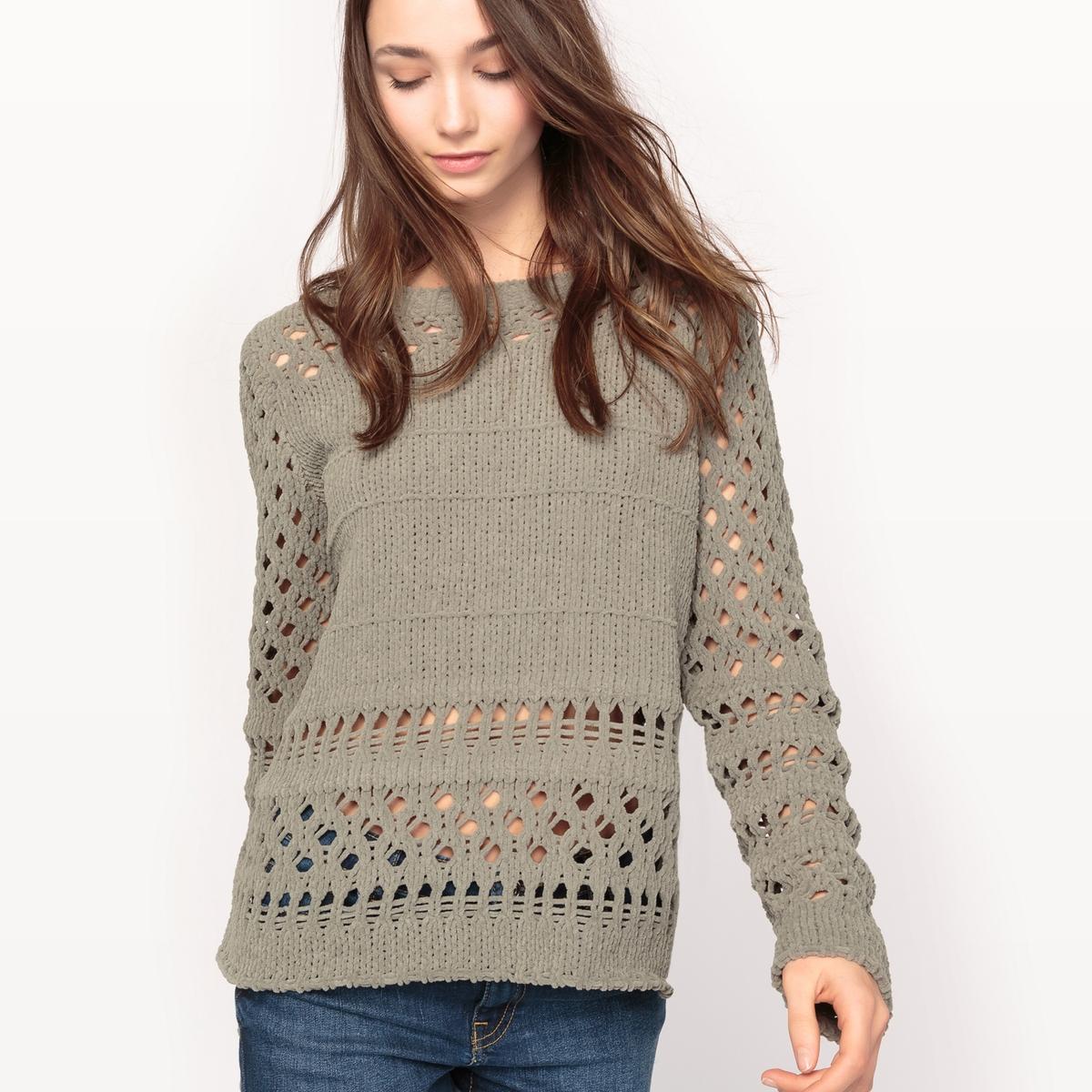 Пуловер из оригинального трикотажаДетали  •  Классическая модель •  Длинные рукава •  Воротник-стойка •  Плотный трикотажСостав и уход  •  100% полиэстер •  Следуйте рекомендациям по уходу, указанным на этикетке изделия<br><br>Цвет: хаки светлый<br>Размер: XS