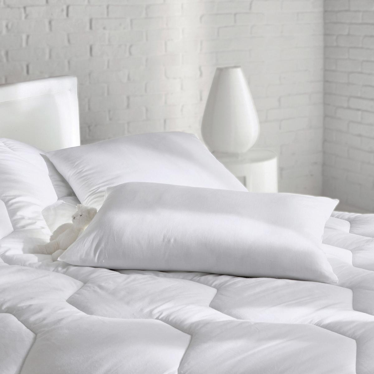 цена Подушка La Redoute Синтетическая мягкая с обработкой Santol 60 x 60 см белый онлайн в 2017 году
