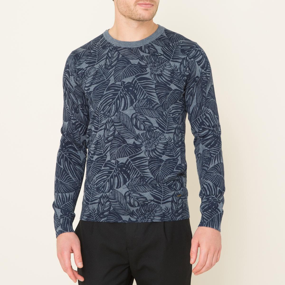 Пуловер с рисункомСостав и описание Материал : 100% хлопокМарка : SCOTCH AND SODA<br><br>Цвет: темно-синий