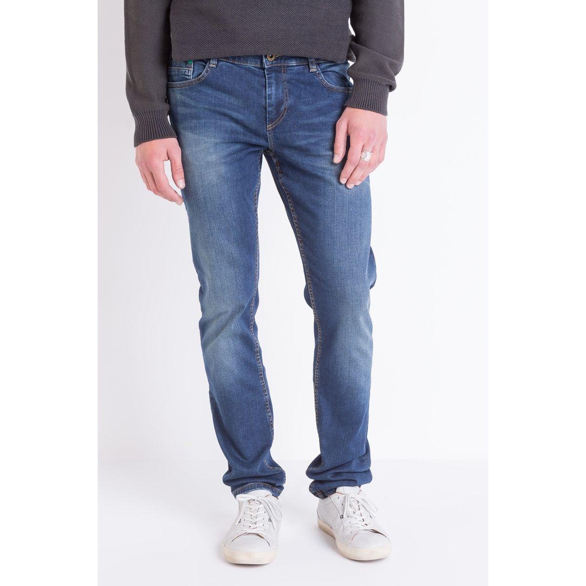 Jeans homme slim coton bio