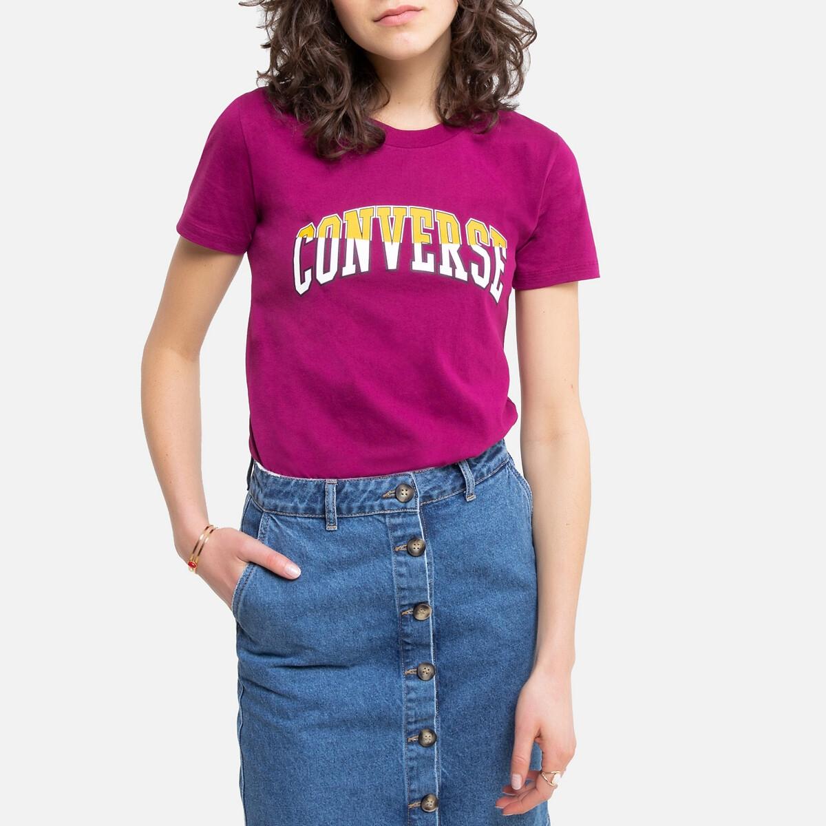 Camiseta Twisted Varsity 100% algodón con logotipo delante