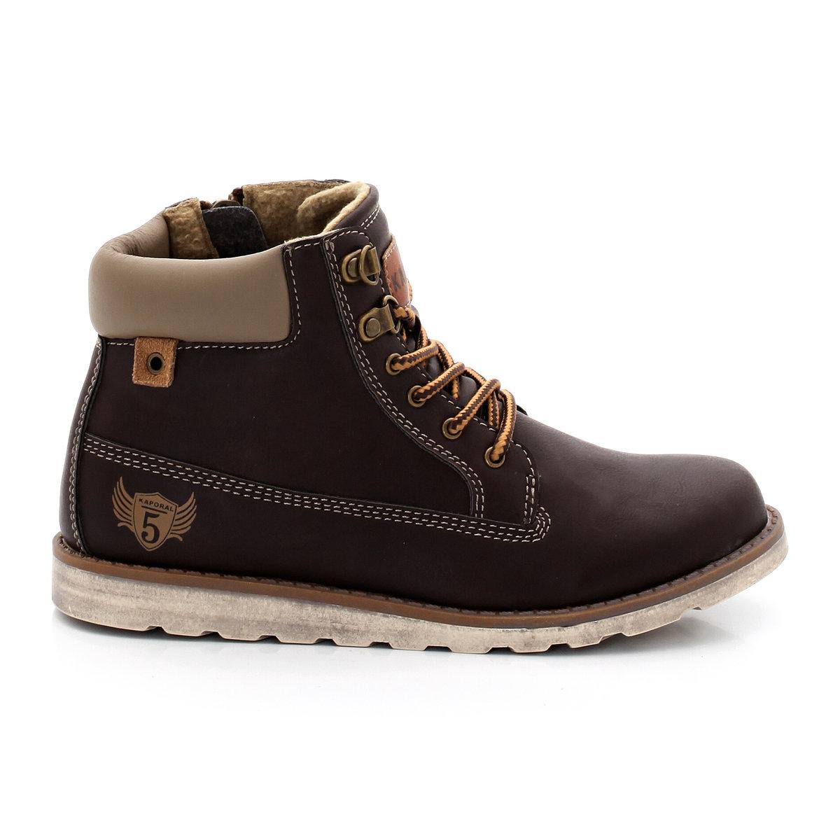 Ботинки KAPORAL WinakПреимущества: Непревзойденно удобные и оригинальные ботинки KAPORAL с элементами стиля ретро и модных тенденций сезона.<br><br>Цвет: каштановый<br>Размер: 30