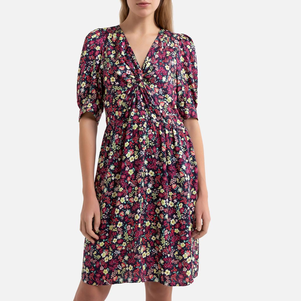 Платье La Redoute С цветочным принтом MARLENE XS разноцветный marlene rose clarke miss ivy s tea room