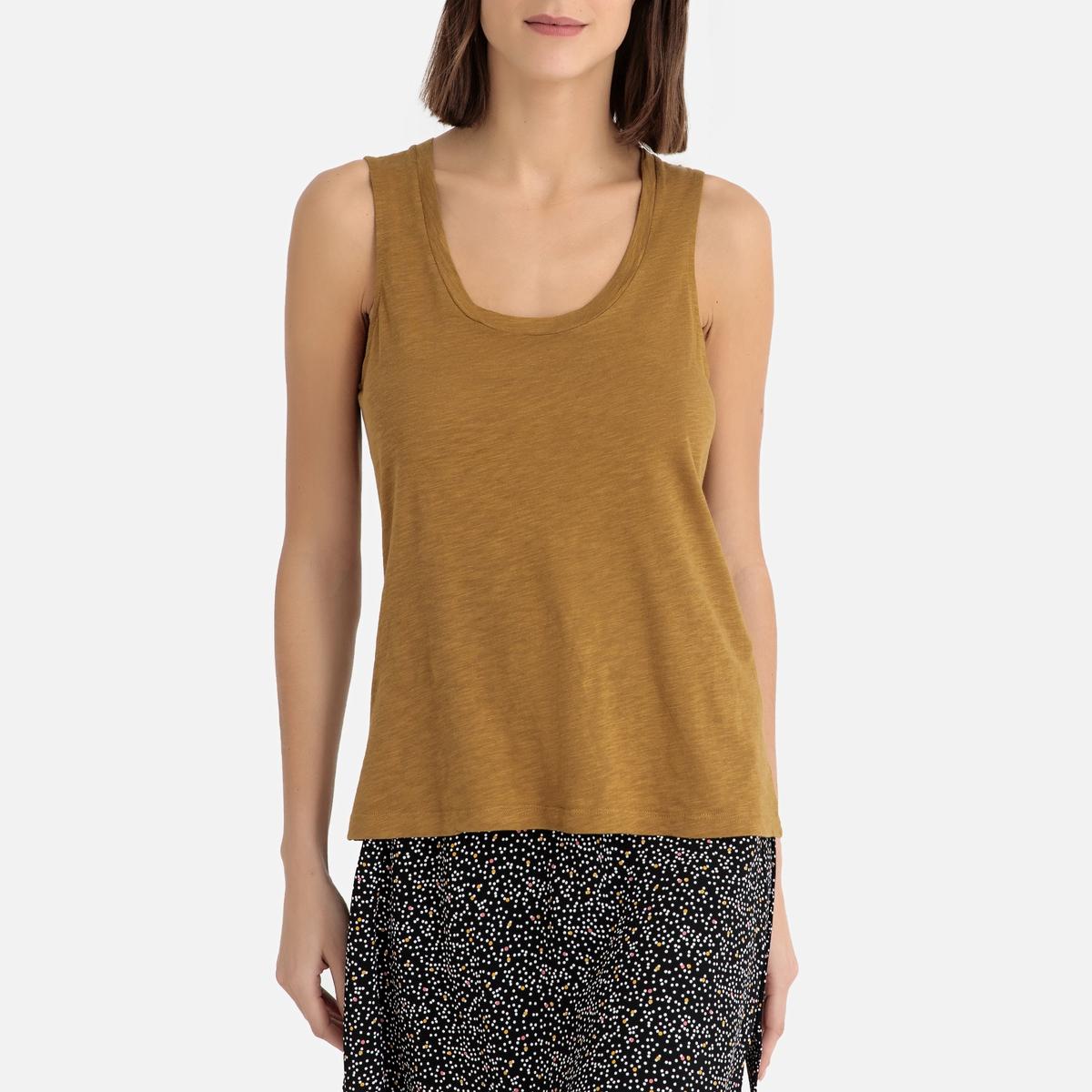 Imagen principal de producto de Camiseta sin mangas de algodón flameado JACKSONVILLE - American Vintage