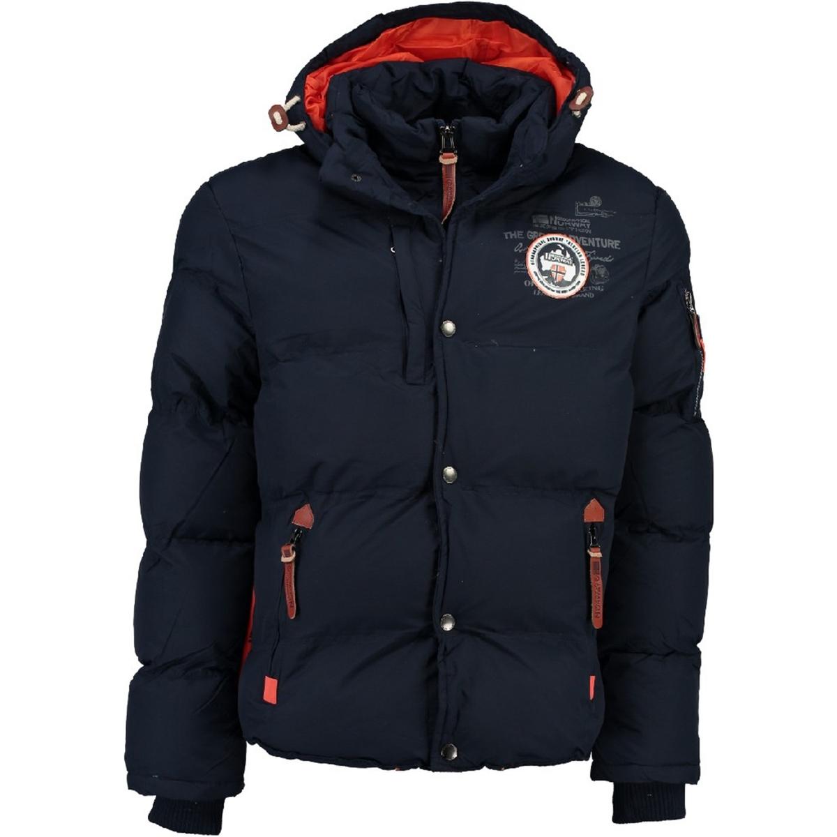 Куртка стеганаяДетали •  Длина : укороченная   •  Капюшон  •  Застежка на молниюСостав и уход •  100% полиамид  •  Следуйте советам по уходу, указанным на этикетке<br><br>Цвет: синий морской,темно-серый<br>Размер: S.3XL.XXL.L