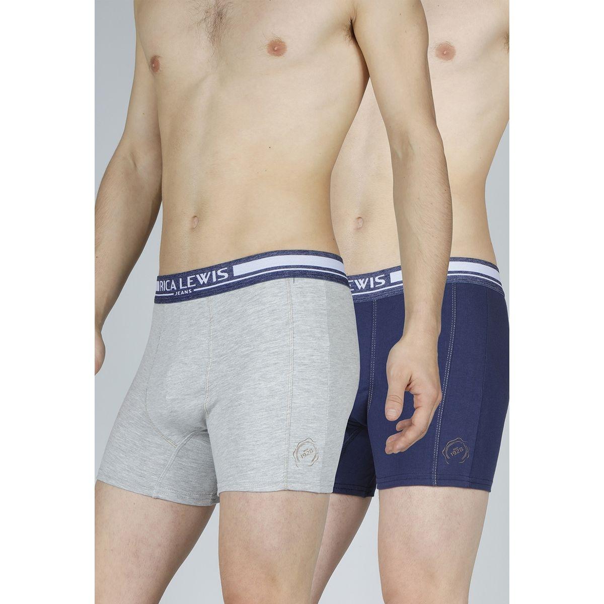 Boxer jeanswear, lot de 2
