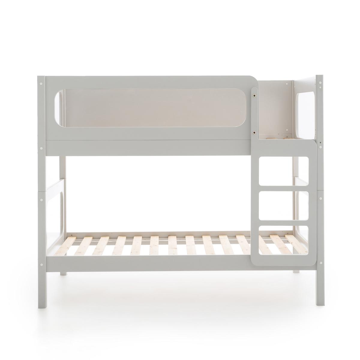 Кровать La Redoute Двухъярусная Pilha 90 x 190 см серый
