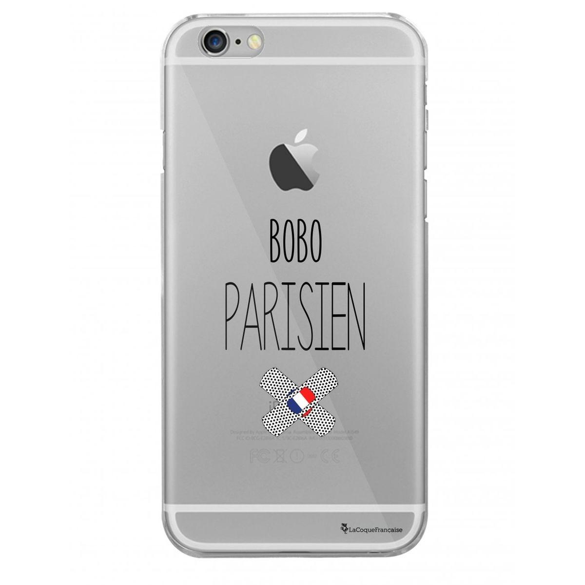 Coque iPhone 6 Plus / 6S Plus rigide transparente, Bobo parisien, La Coque Francaise®