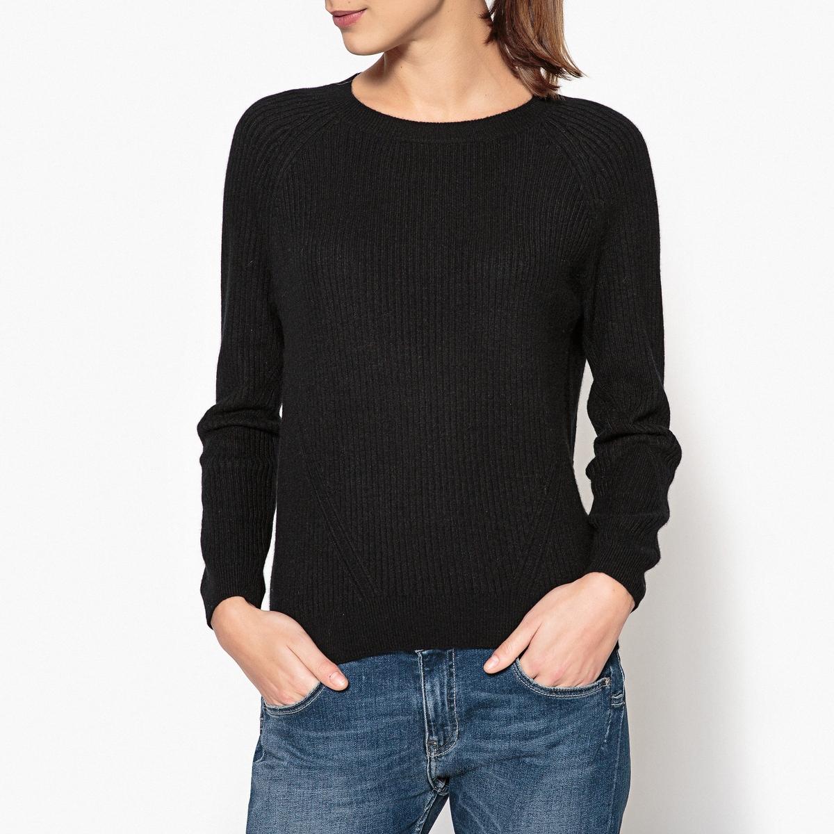 Пуловер из кашемира с круглым вырезом NATH