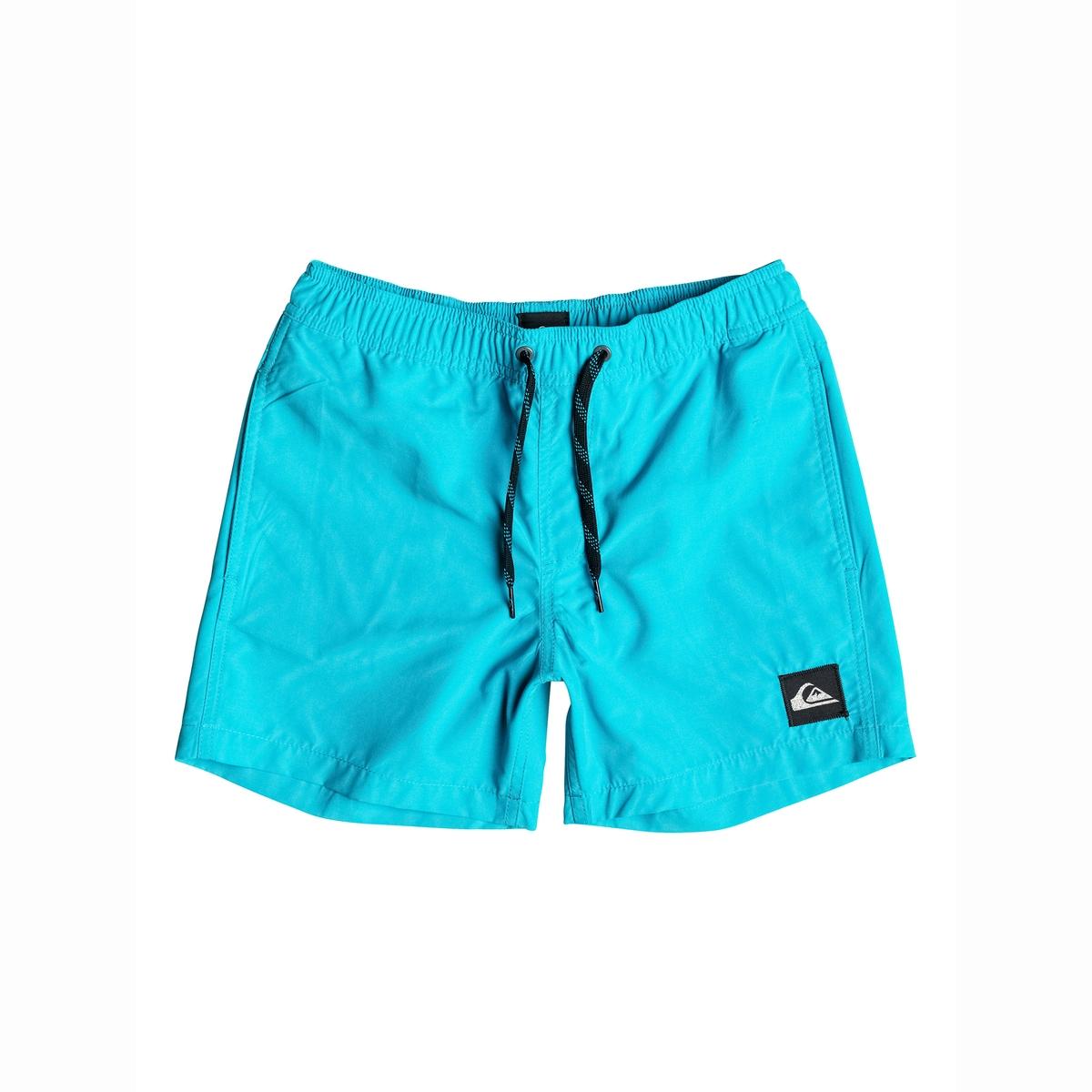Плавки-шорты с вышитым логотипом, 8 - 16 лет