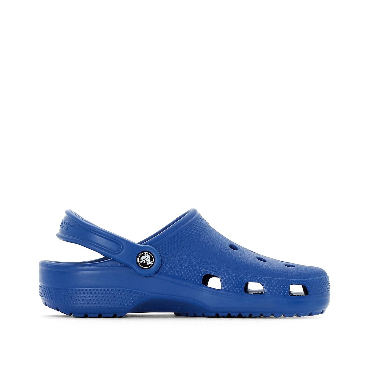 Сабо 10001 CLASSICОписание:Детали •  Плоский каблук •  Высота каблука : 2 см •  Застежка : ремешок/пряжка •  Круглый мысок •  Гладкая отделкаСостав и уход •  Верх 100% синтетический материал •  Подошва 100% синтетический материал<br><br>Цвет: синий
