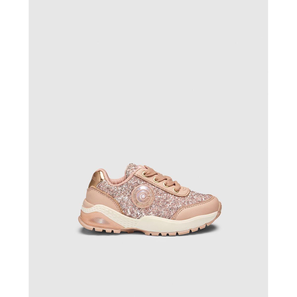 Chaussures sport led  glitter