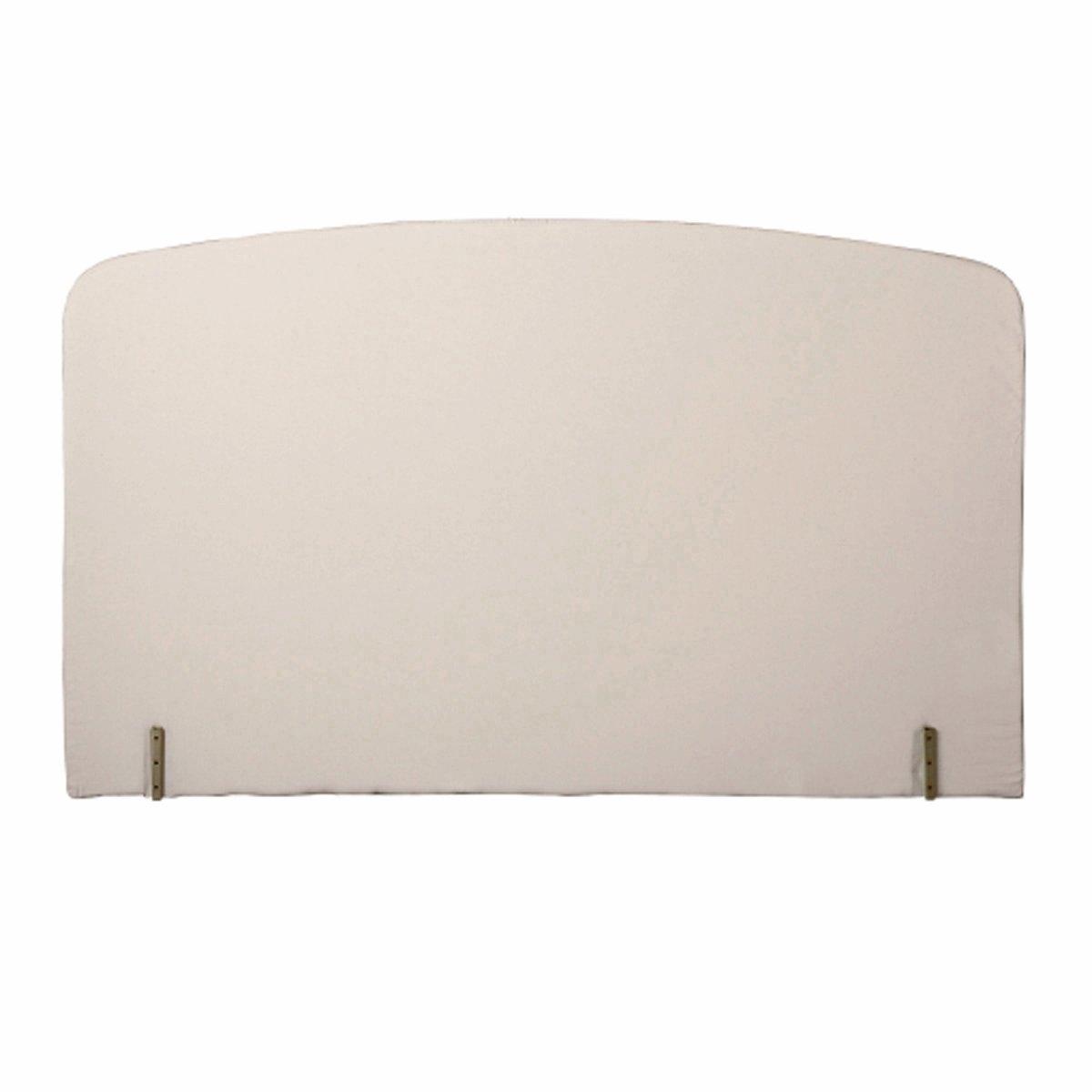 Изголовье La Redoute Кровати с обивкой изогнутой формы 140 см белый