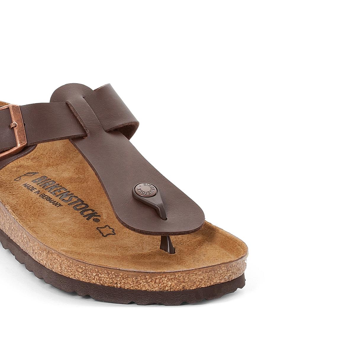 Туфли без задника из синтетического материала