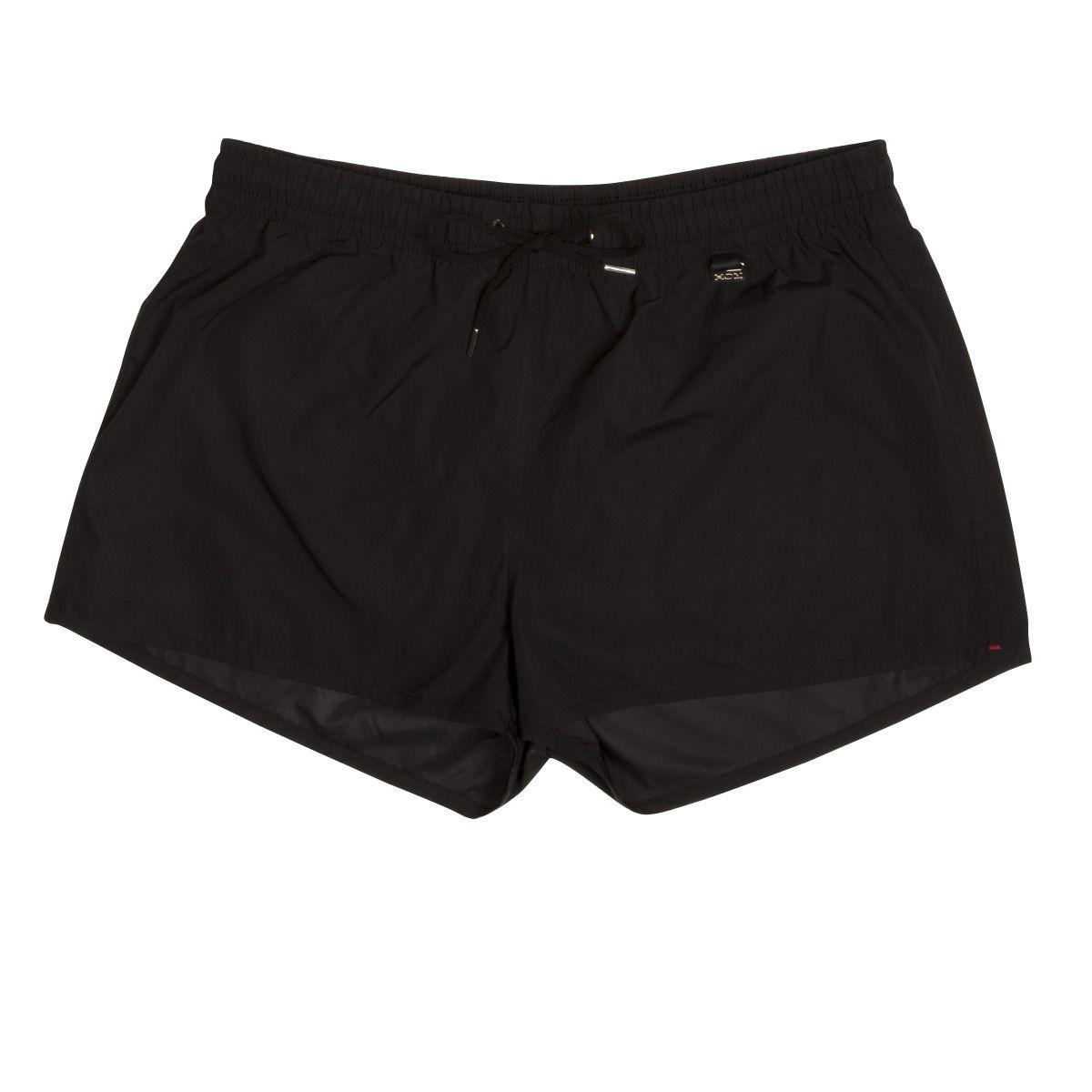 Short de bain   Splash noir polyester