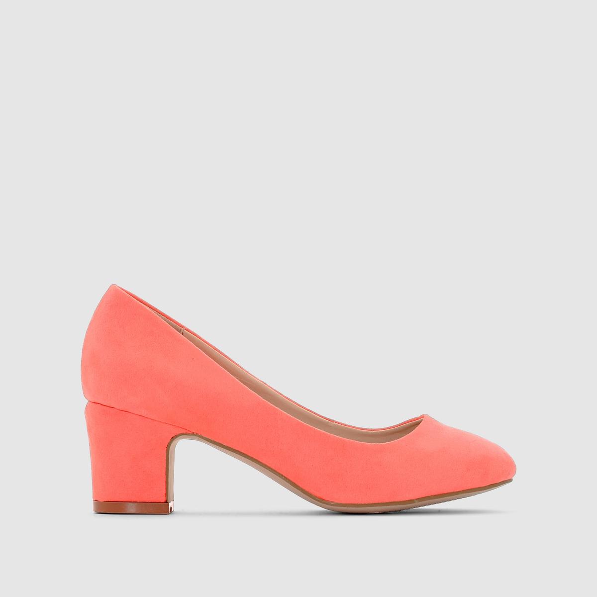 Балетки флуоресцентныеБалетки флуоресцентные MADEMOISELLE RВерх : синтетический материалПодкладка : синтетический материалСтелька : кожа.Подошва : из эластомера.Каблук : 6 см. Мы советуем выбирать обувь на размер больше, чем ваш обычный размер.<br><br>Цвет: ярко-коралловый<br>Размер: 37.39.40.41