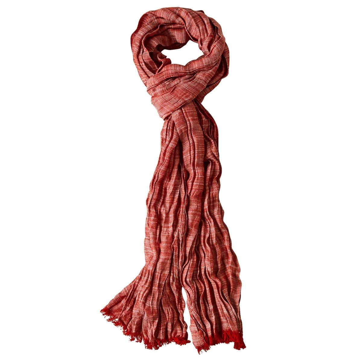 Écharpe d'été légère en tissu à plis