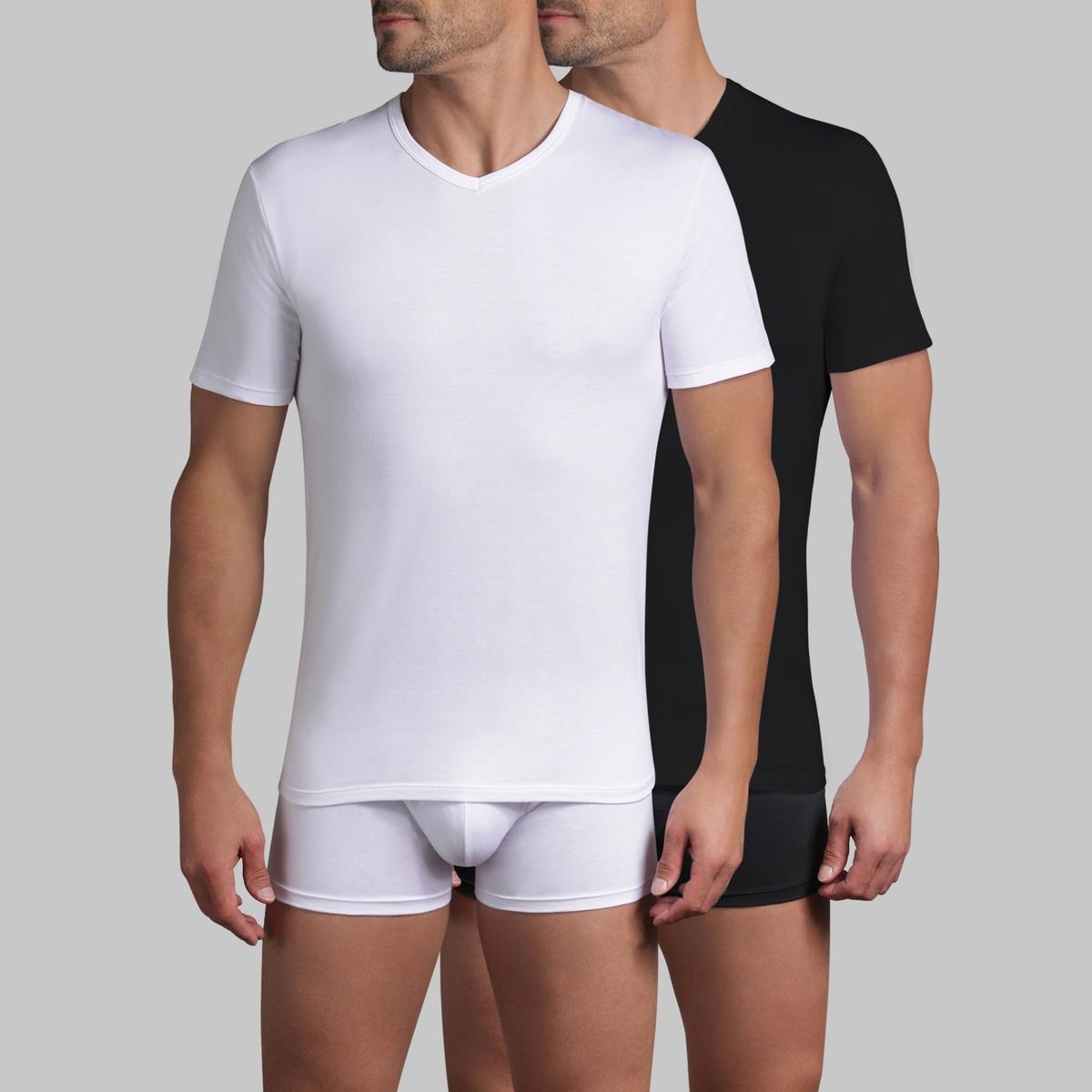 T-shirt X-TEMP scollo a V (in vendita in confezione da 2)