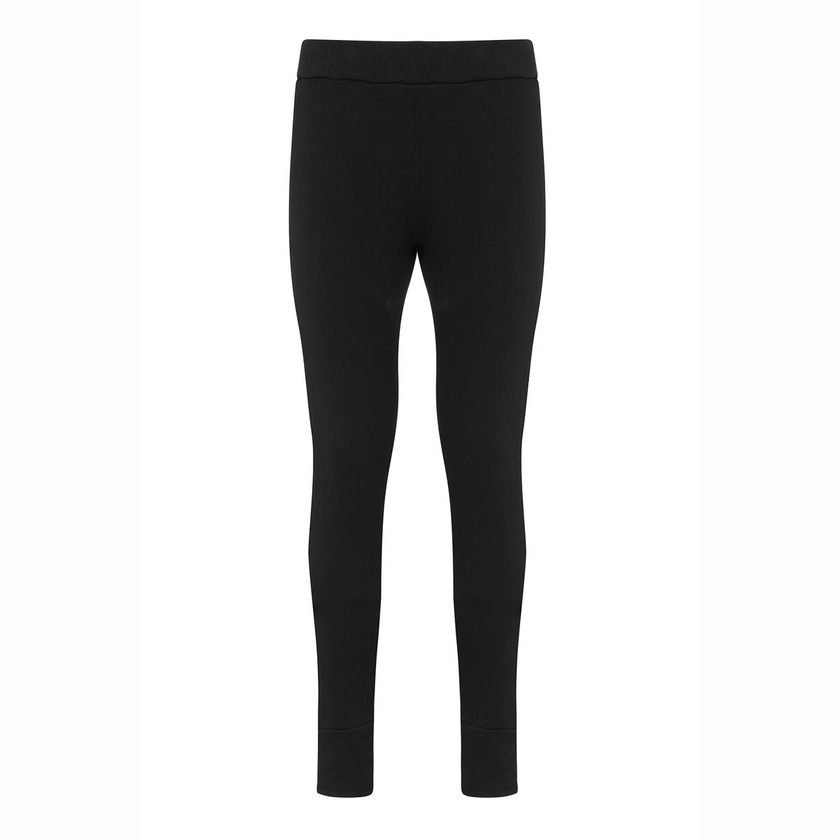 Брюки ZIAЭлегантные спортивные брюки, комфортные и удобные, зауженный покрой в стиле леггинсов, из очень мягкого мольтона. Машинная стирка при 30 °C. Мольтон, 100% чесаный хлопок с мягкой внутренней поверхностью.<br><br>Цвет: черный