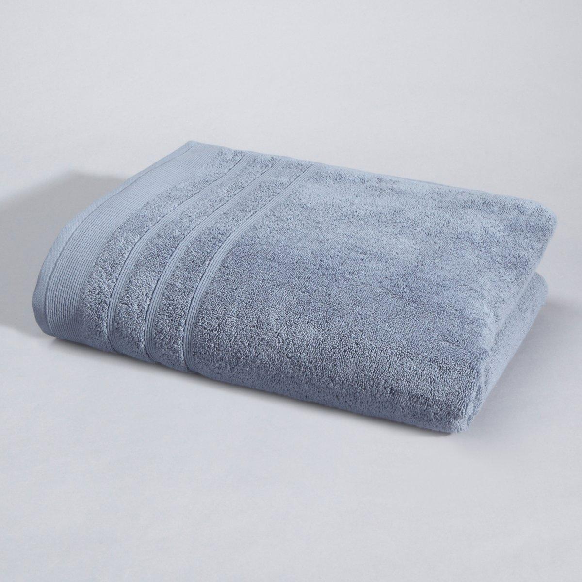Полотенце La Redoute Банное гм Качество Best 100 x 150 см синий цена