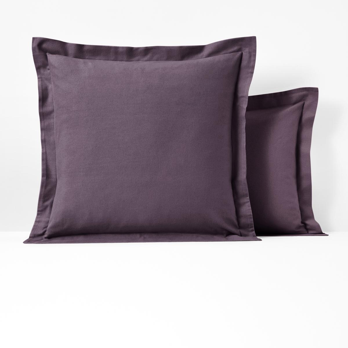 лучшая цена Наволочка La Redoute Или наволочка на подушку-валик SCENARIO 50 x 70 см фиолетовый