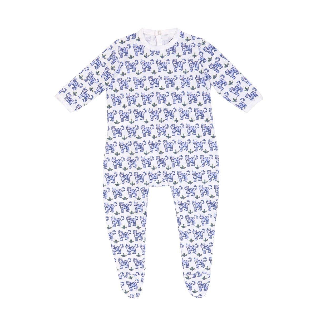 Pyjama bébé en coton bio - Imprimé Tigre