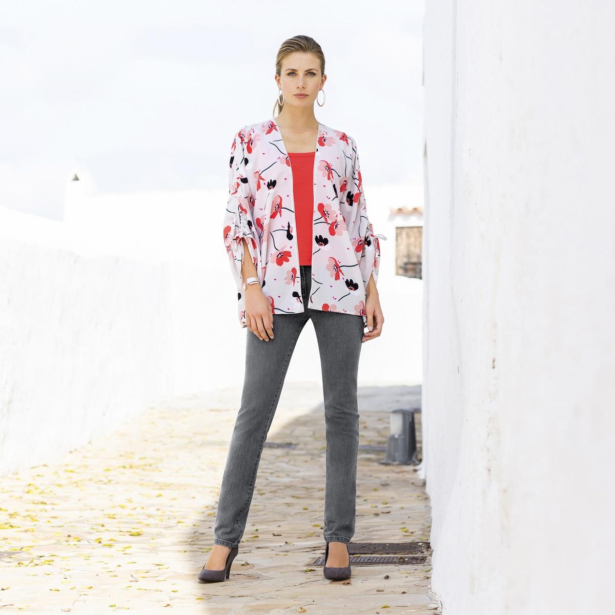 Imagen secundaria de producto de Camiseta sin mangas 100% algodón peinado - Anne weyburn