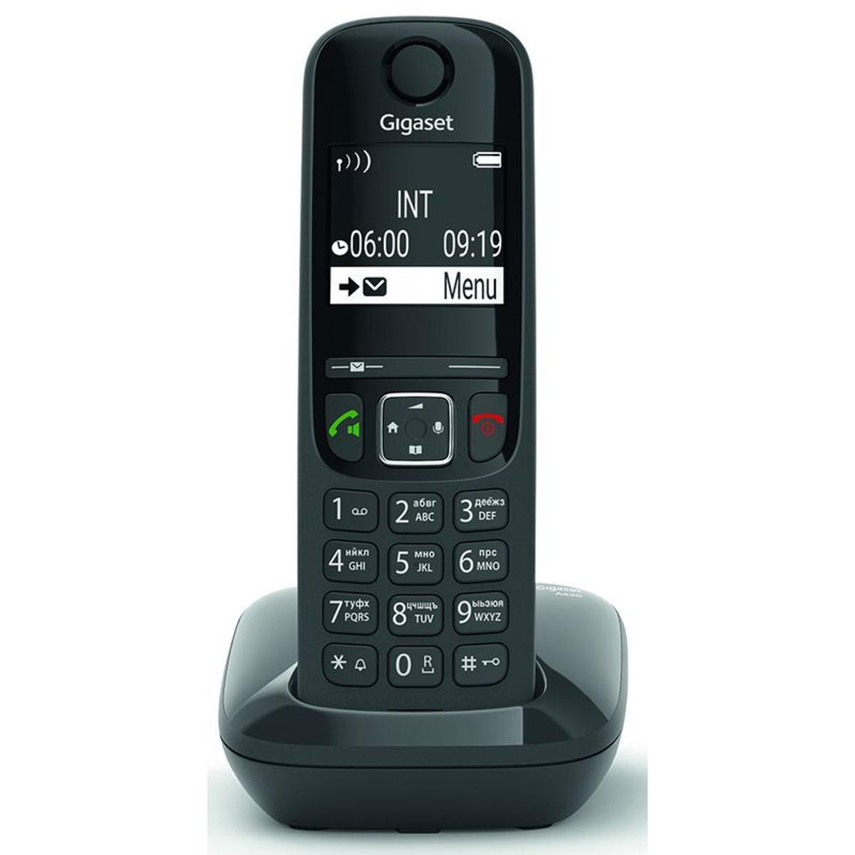 Telephones sans fil GIGASET SIEMENS GIGA AS 690 NOIR - GIGA AS 690 NOIR