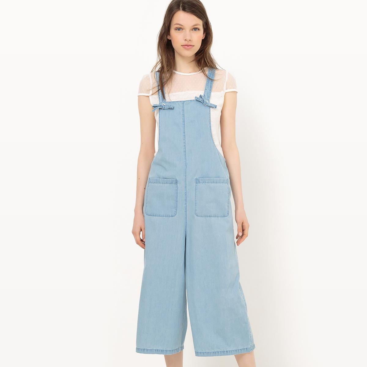 Комбинезон джинсовый легкий