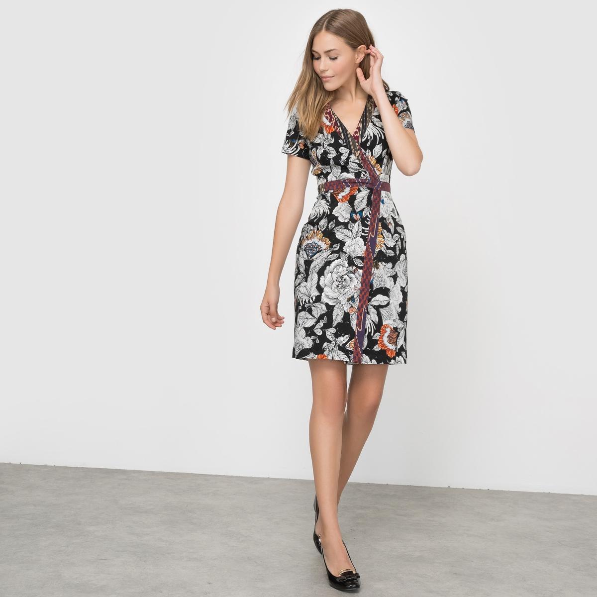 Платье с цветочным принтом платье french connection french connection fr003ewailv7