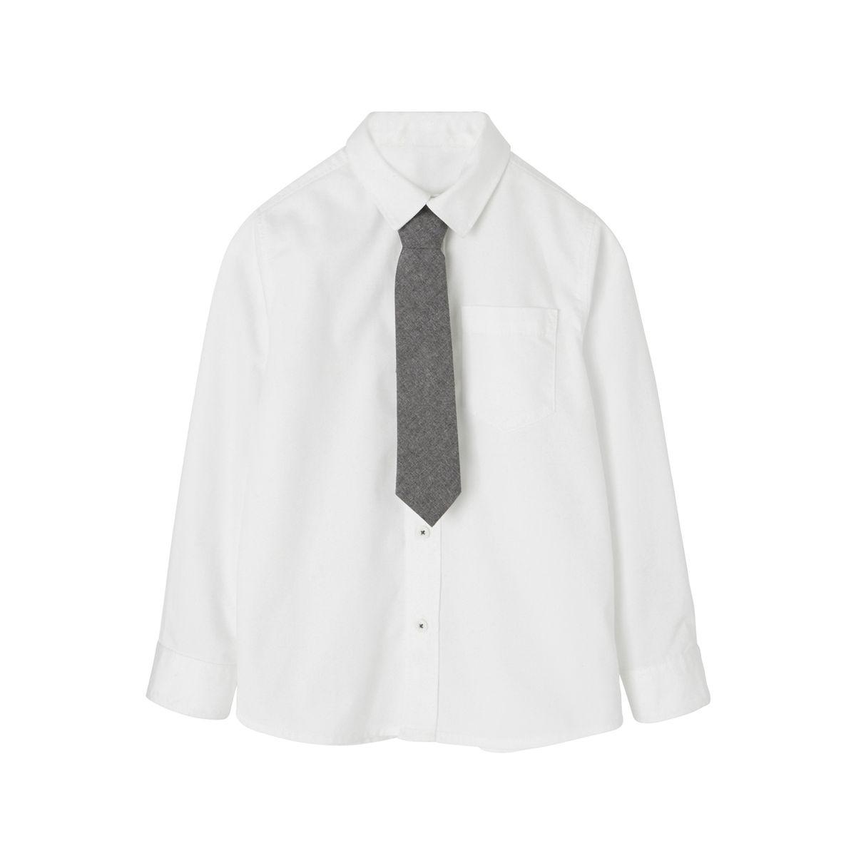 Chemise + cravate garçon