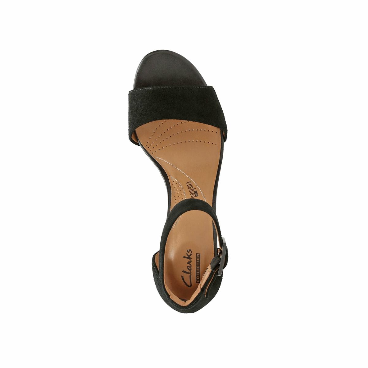 Imagen secundaria de producto de Sandalias de piel aterciopelada con tacón Deva Mae - Clarks