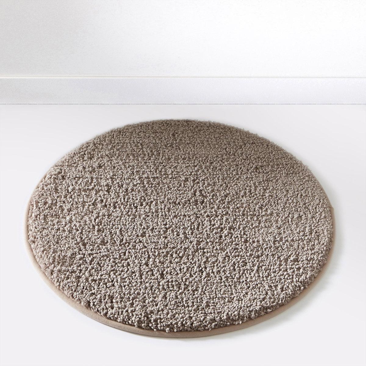 Коврик для ванной SCENARIOСостав коврика для ванной Scenario:Пушистая одноцветная микрофибра, 1500 г/м2.100% полиэстера.Диаметр коврика для ванной Scenario:60 см, 7 цветов: бежевый / белый / голубой / темно-серый / черный / зеленый анисовый / фиолетовый сливовый.<br><br>Цвет: белый,зеленый анис,серо-бежевый,черный<br>Размер: единый размер