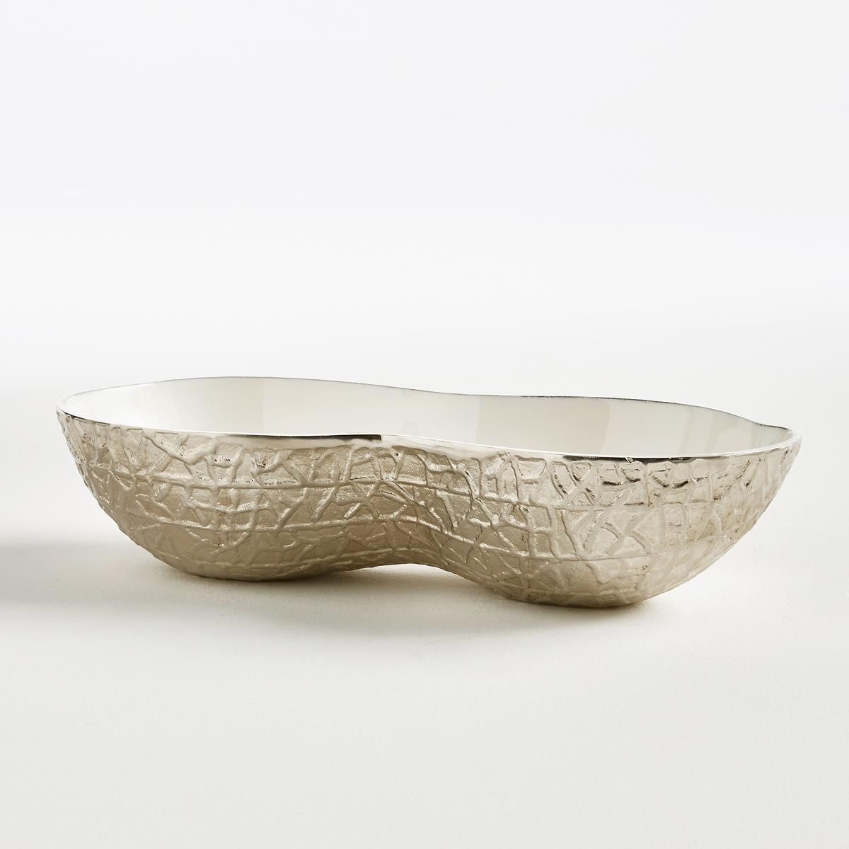 Чаша в форме арахиса из алюминия Pastorino<br><br>Цвет: алюминий
