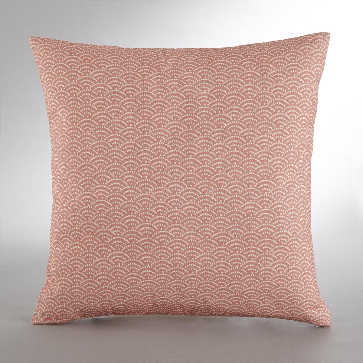Чехол для подушки YokkoЧехол для подушки Yokko - добавьте восточного колорита в ваш интерьер! Описание чехла для подушки Yokko :Цветочные мотивы на лицевой стороне, японские мотивы на коралловом фоне на оранжевой стороне.Скрытая застежка на молнию.100% хлопка. Множество оригинальных чехлов для подушек на нашем сайте.Размеры чехла для подушки Yokko :45 x 45 см<br><br>Цвет: рисунок/фон розовый
