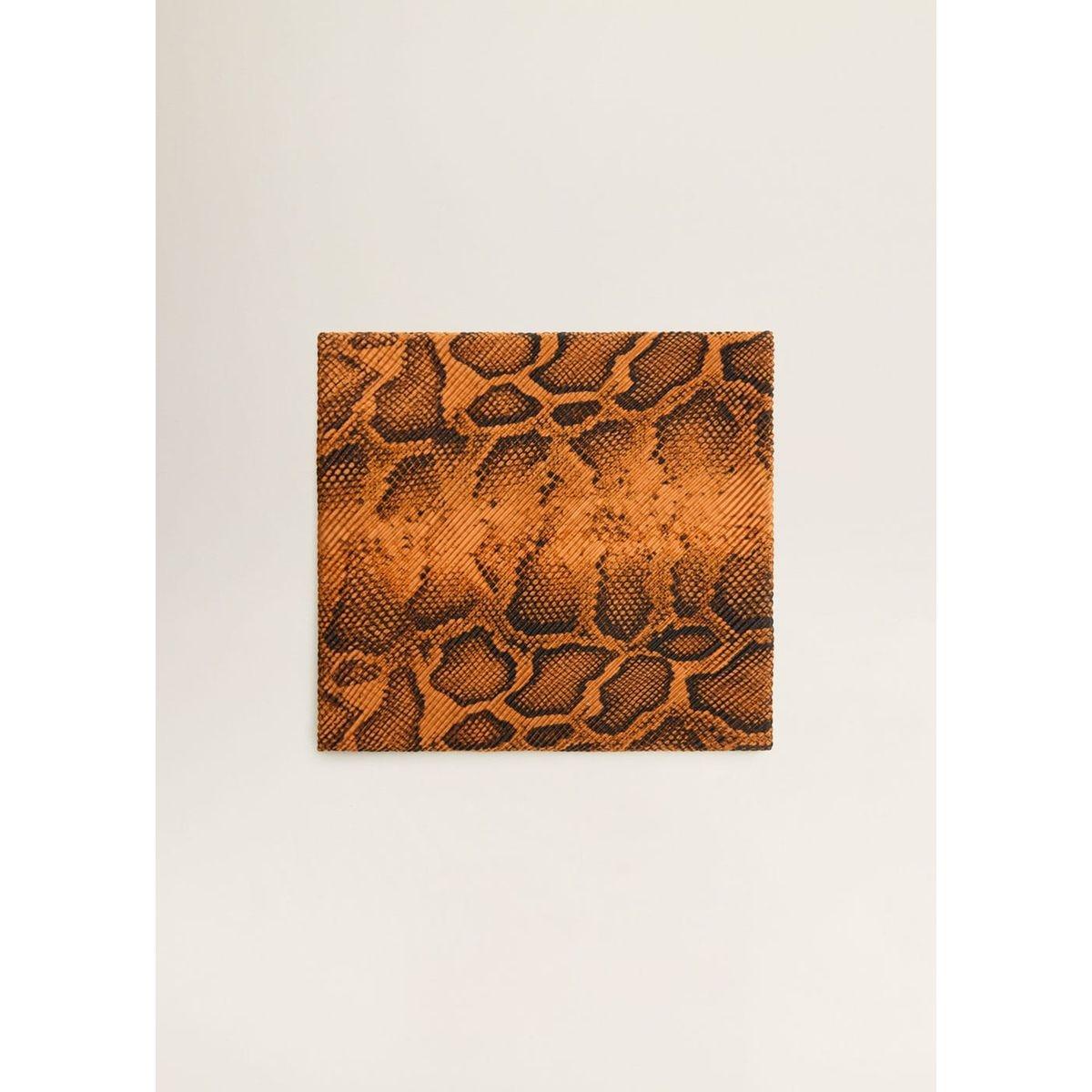 Foulard imprimé serpent
