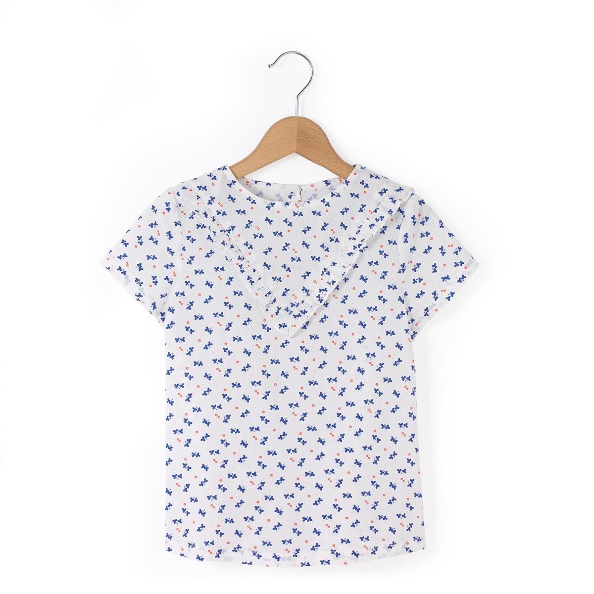 Блузка с короткими рукавами 3-12 лет