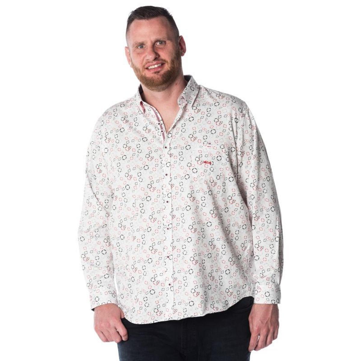 Chemise à Motifs en Coton