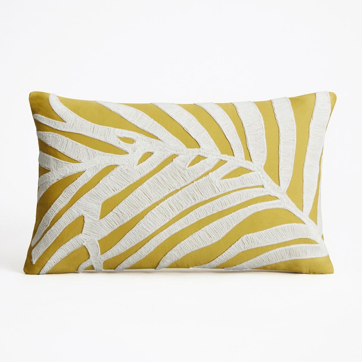 Наволочка на подушку-валик Fougeras<br><br>Цвет: зеленый