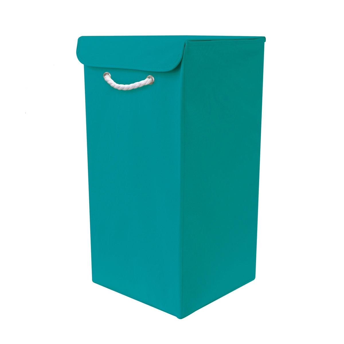 Складная корзина для белья DeniseХотите добавить ярких цветов в Вашу ванную комнату? Корзина для белья Denise разнообразит интерьер и создаст хорошее настроение! Практичное решение: если корзина не используется, ее можно сложить!Характеристики корзины Denise:каркас из картона (толщ.. 1,8 мм).Нетканое покрытие, 80 г/м2.Жесткое модульное дно.Описание корзины Denise:1 ручка из плетеного хлопчатобумажного волокна спереди.Крышка открывается сверху и закрывается на липучки.Складная конструкция.Найдите коллекцию Denise нашем сайте laredoute.ru.Размеры корзины Denise:Ш.30 x В.60 x Г.30 см.<br><br>Цвет: бирюзовый,зеленый анис