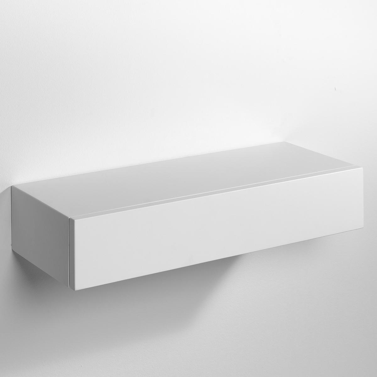 Полка-шкафчик VesperЭта полка-шкафчик незаметно крепится на стену. Можно использовать отдельно или соединять несколько шкафчиков вместе друг над другом.МДФ с лаковым покрытием - нитроцеллюлоза и полиуретан (модель под покраску из массива сосны).Размеры  : Шир..60 x.25 x.12 см.<br><br>Цвет: белый,черный<br>Размер: единый размер