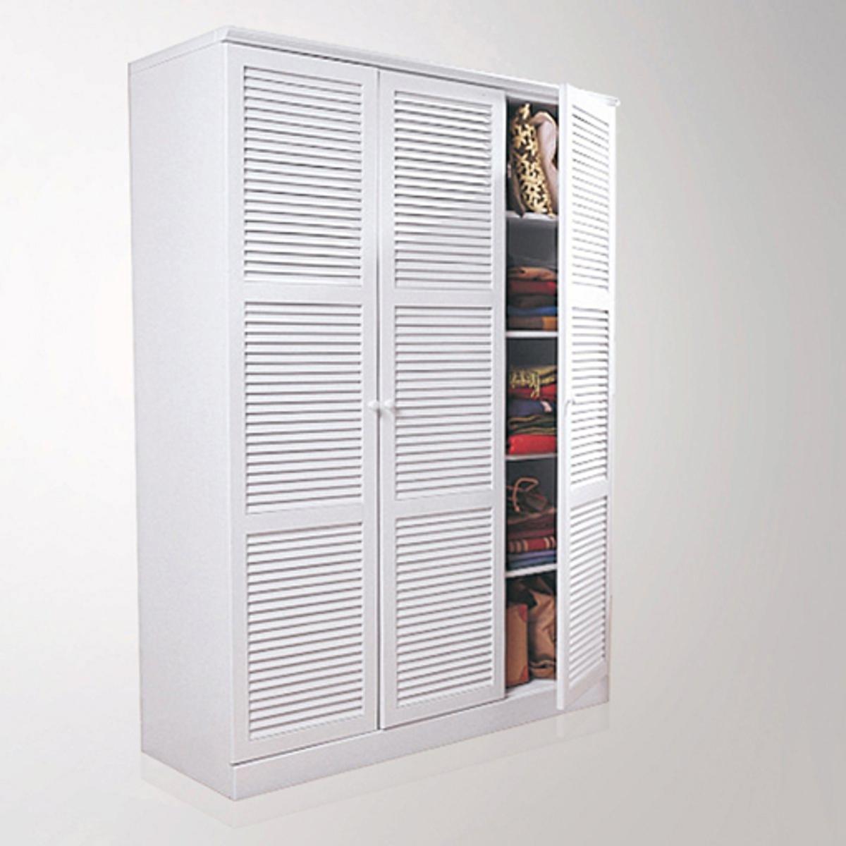 Шкаф LaRedoute Из массива сосны В205 см Mayor единый размер белый