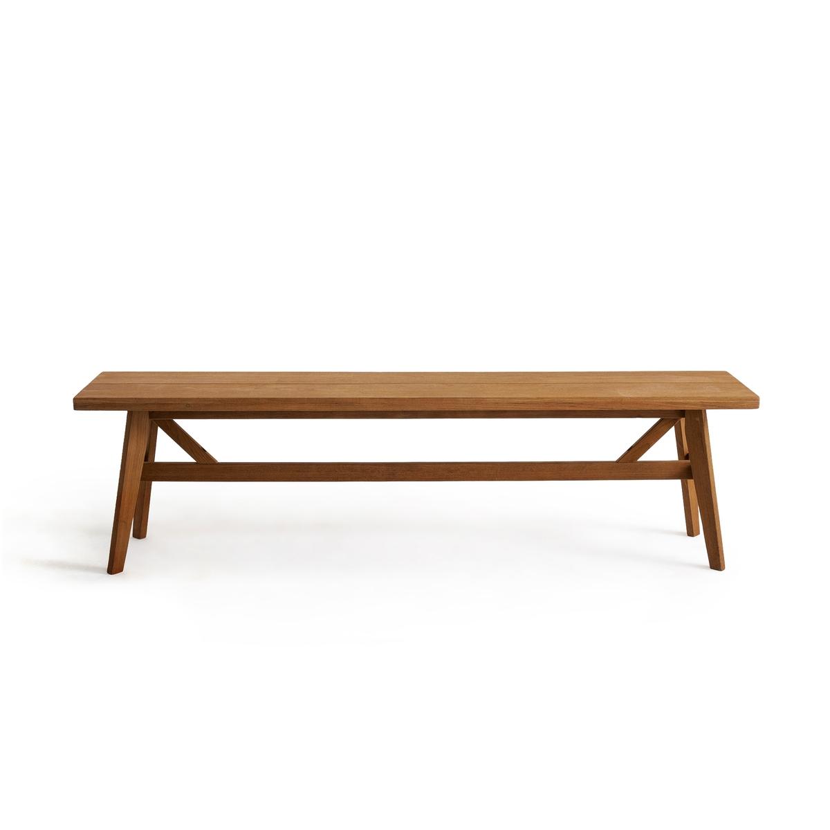 Скамья La Redoute Для стола из тика Sumba единый размер бежевый
