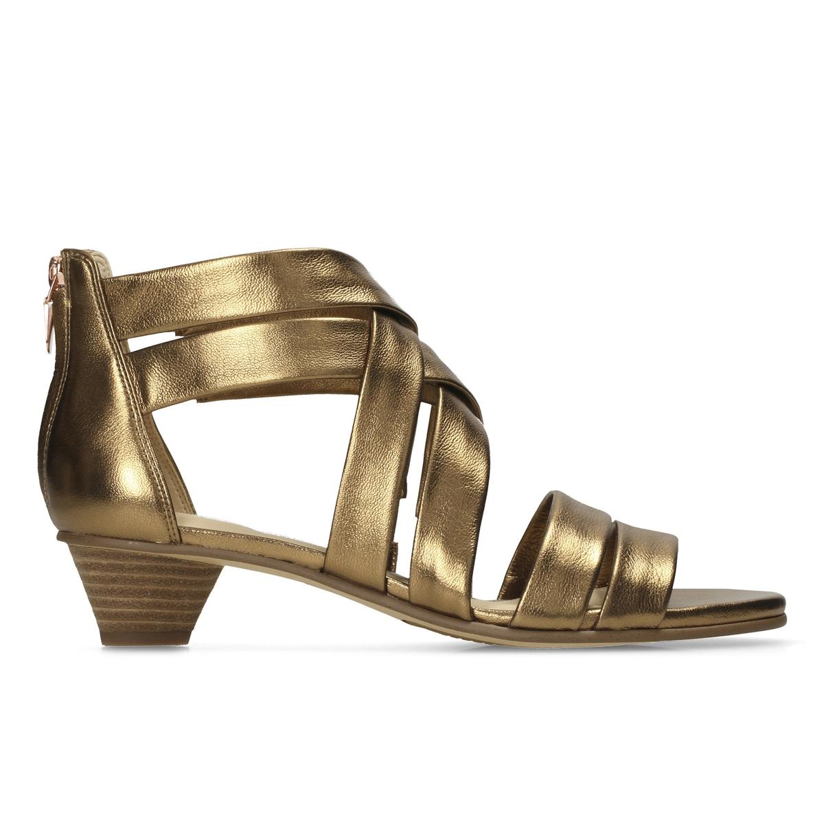 Сандалии кожаные Mena Silk спортивные сандалии clarks orla bella 2 27